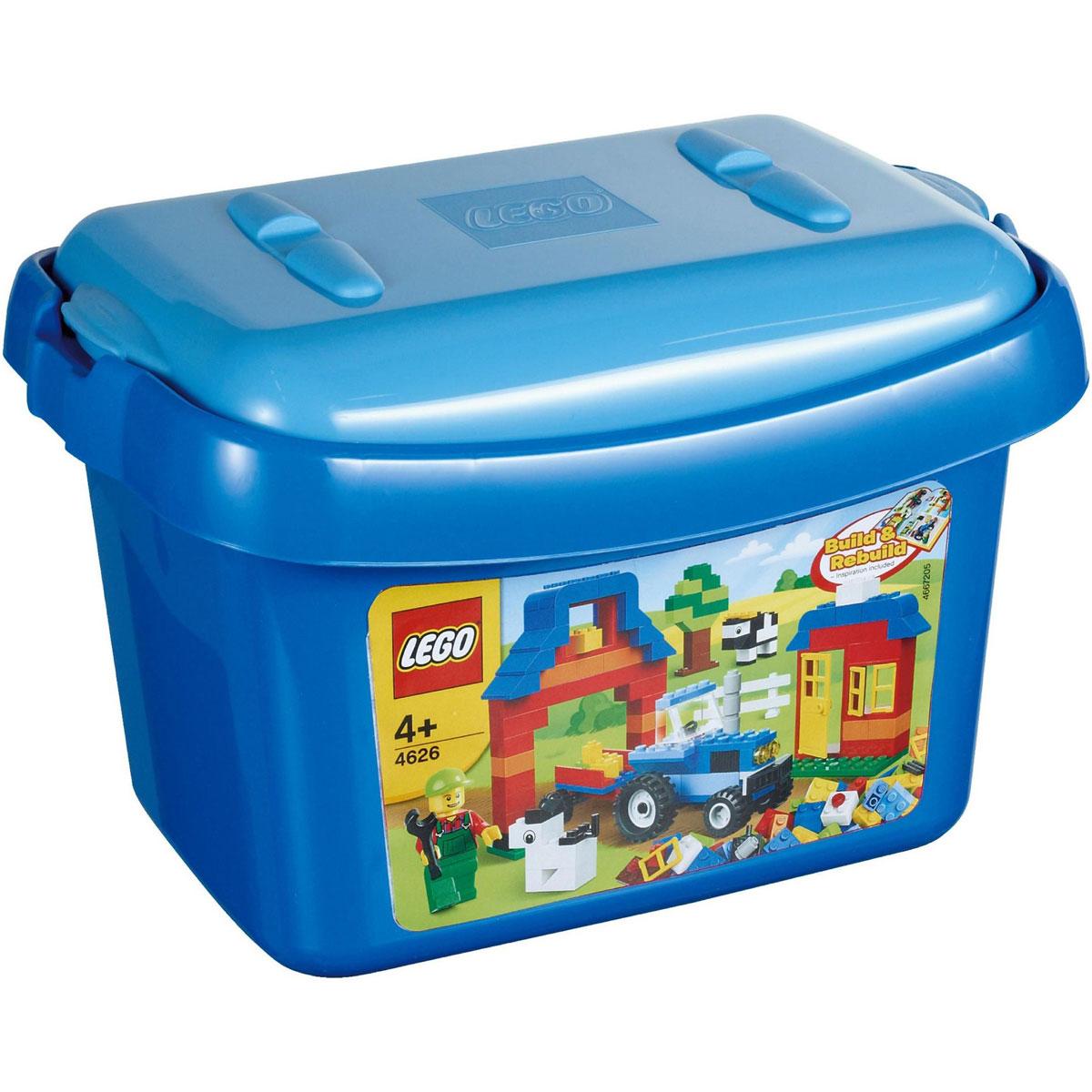 Do choi LEGO 4626 - Xep hinh nong trai than yeu