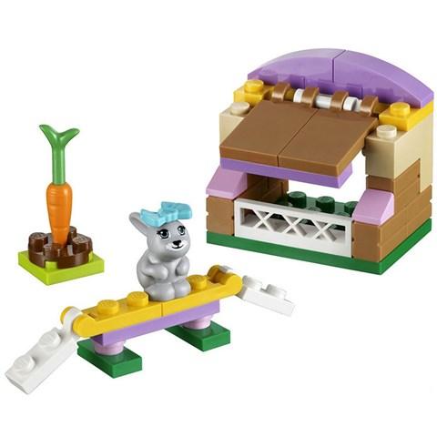 LEGO Friends 41022 xep hinh Bunny's Hutch