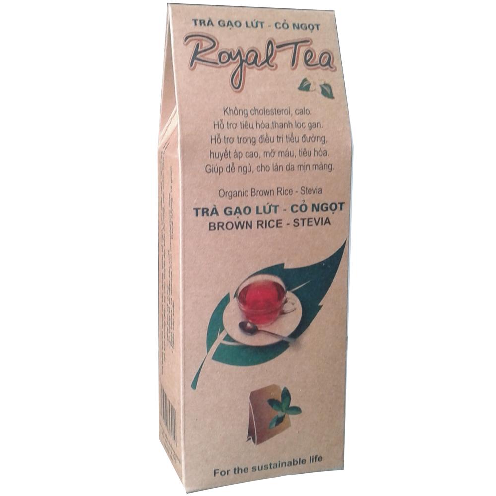 Tra gao lut co ngot Royal Tea