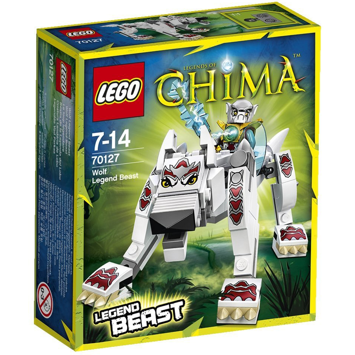 do choi lego chima 70127