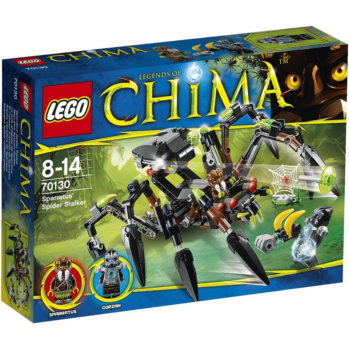 do choi lego chima 70130