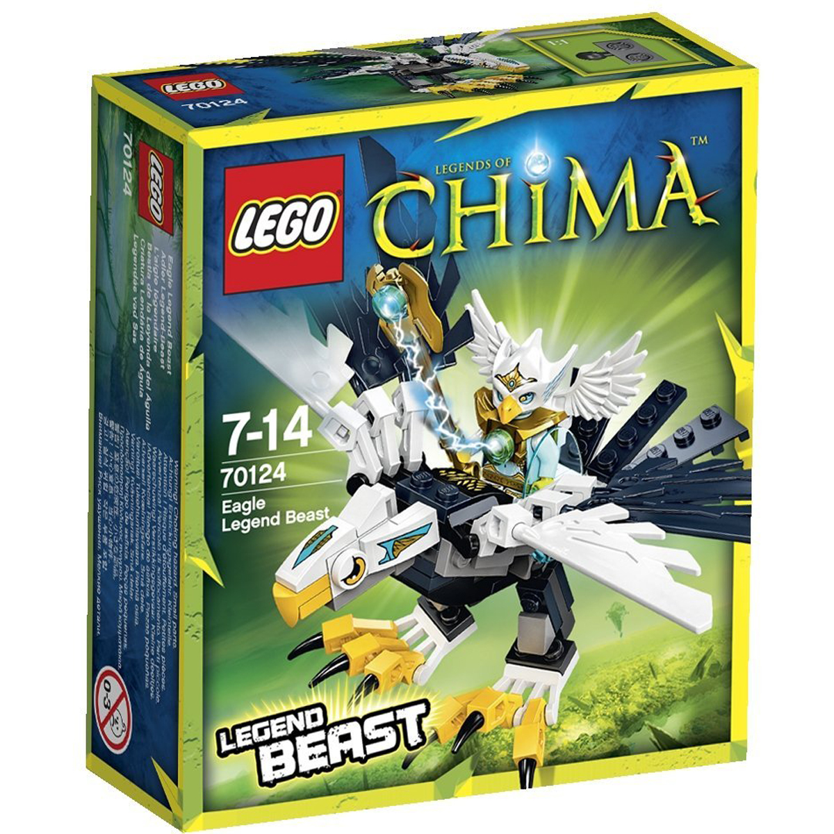 do choi lego chima 70124