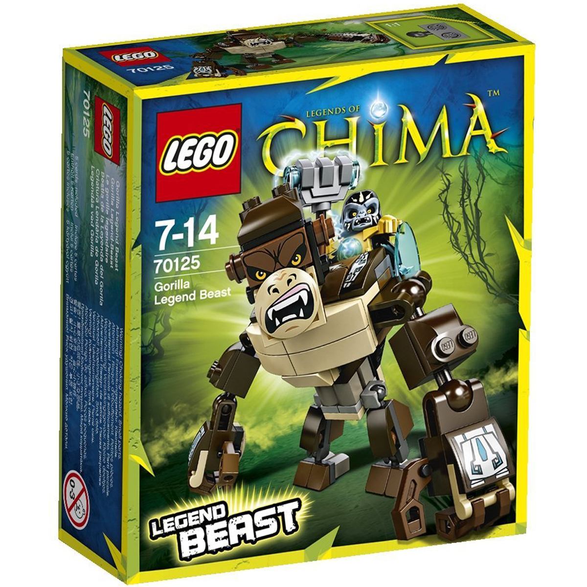 do choi lego chima 70125