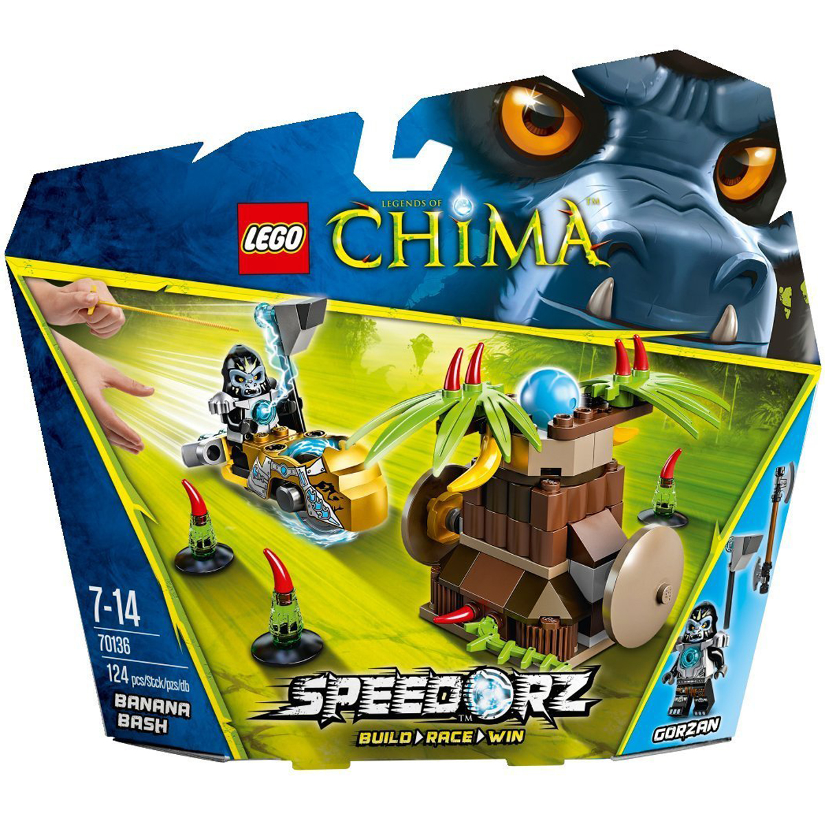 do choi lego chima 70136