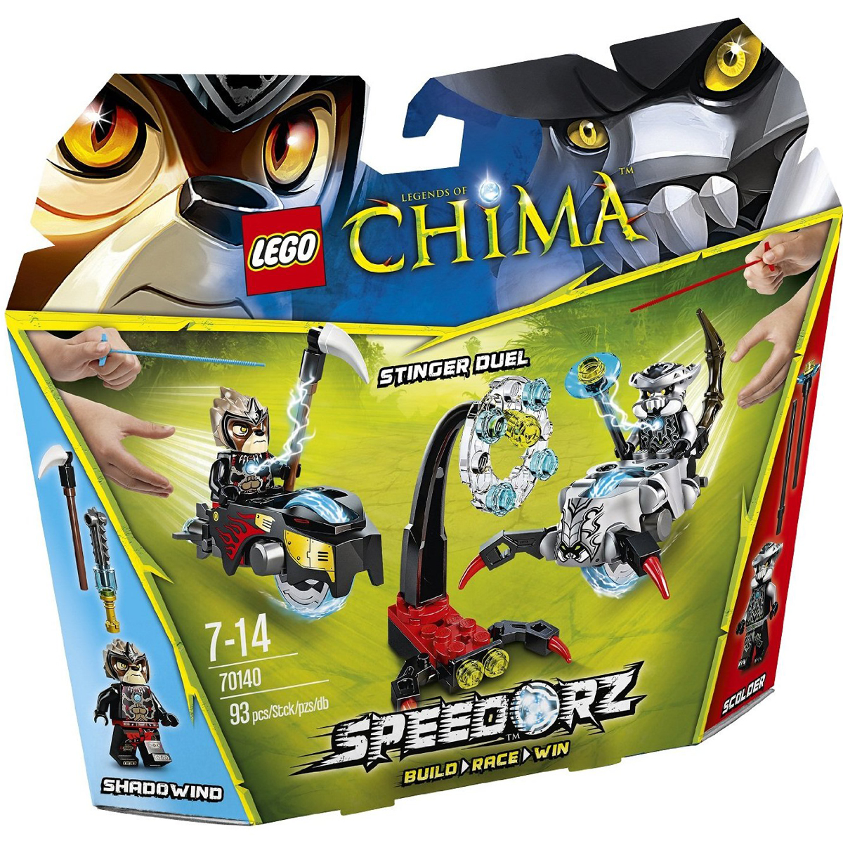 do choi lego chima 70140