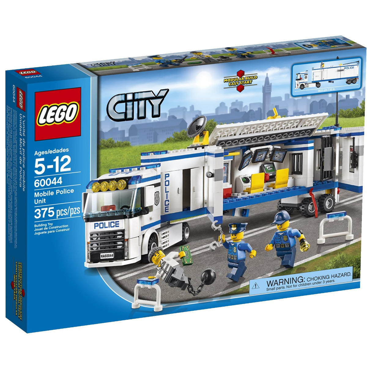 Lego City 60044 - Doi canh sat thong tin