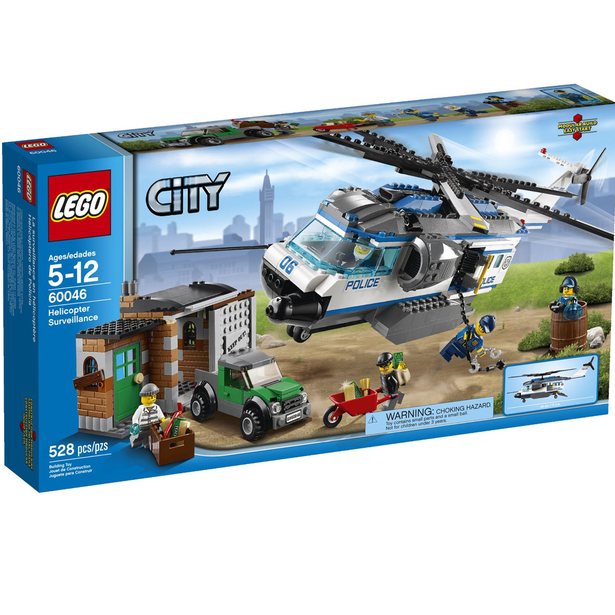 do choi Lego City 60046 - Doi Truc Thang Tuan Tra