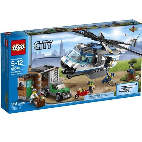 do choi Lego City 60046 - Doi Truc Thang Tuan Tra