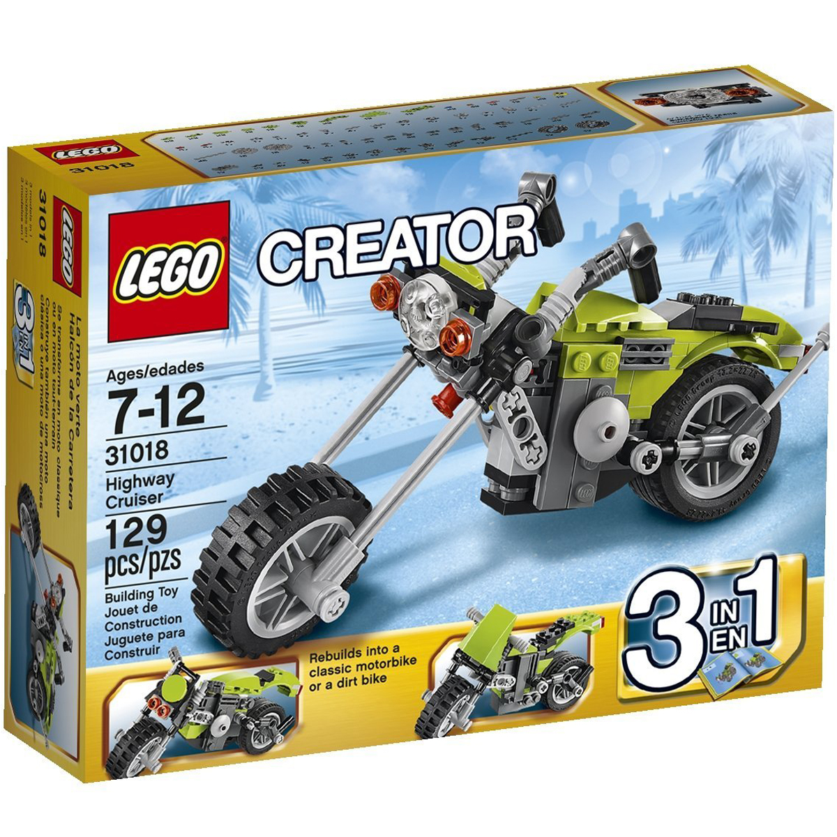 Do choi Lego 31018 - Xep hinh Sieu Xe Mo To