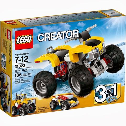 Do choi Lego 31022 - Sieu Xe Bon Banh Manh Me