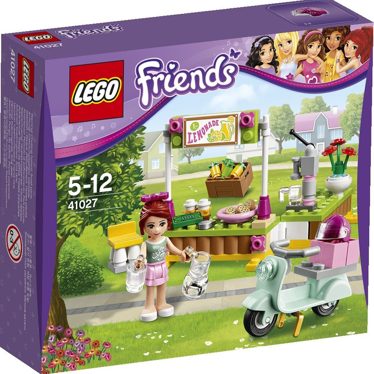 Do choi LEGO Friends 41027 - Quay Giai Khat Cua Mia