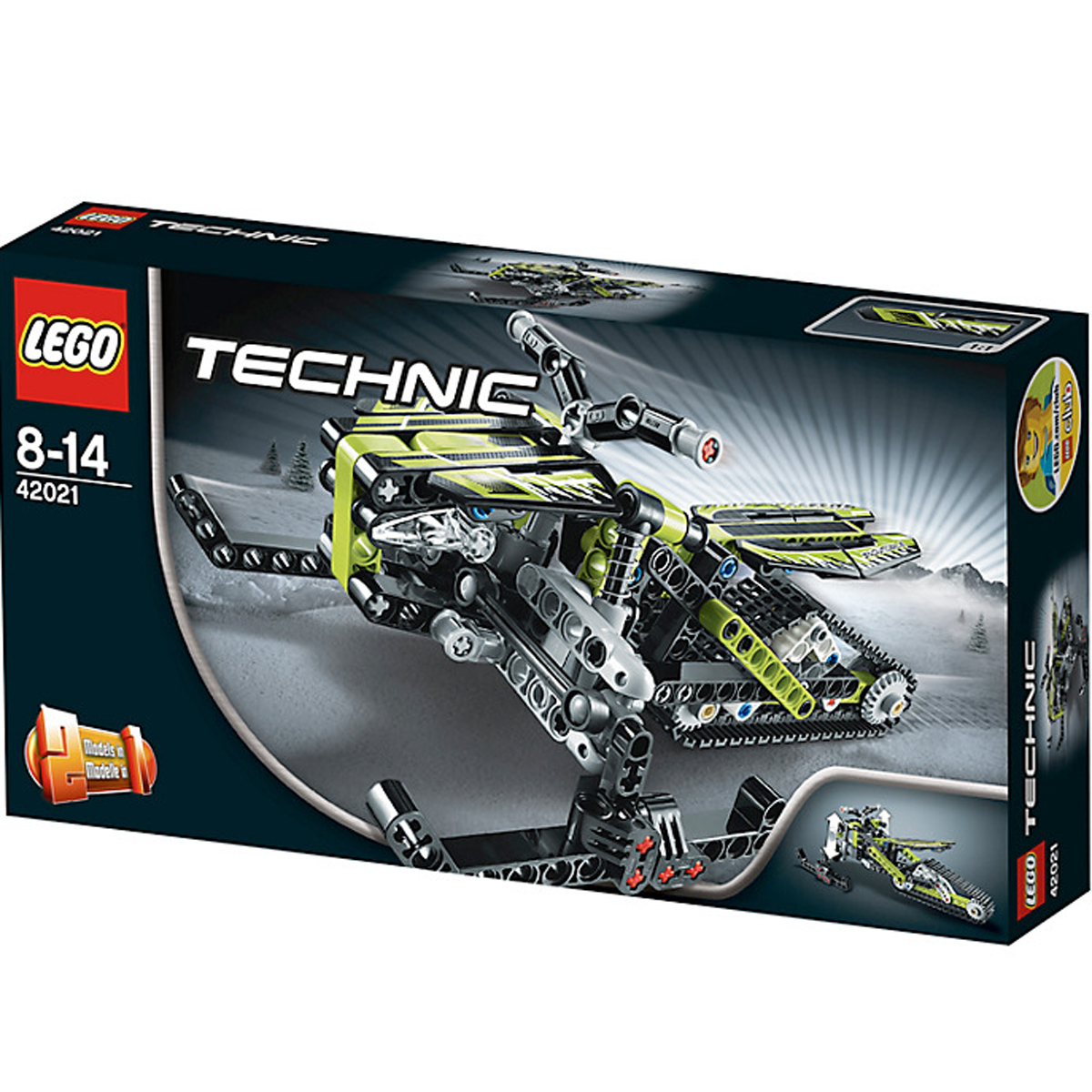do choi lego technic 42021