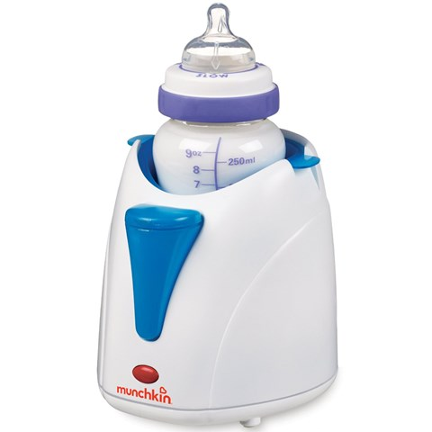 May ham sua Munchkin (Deluxe Bottle & Food Warmer W/Pacifier Cleaning Basket)