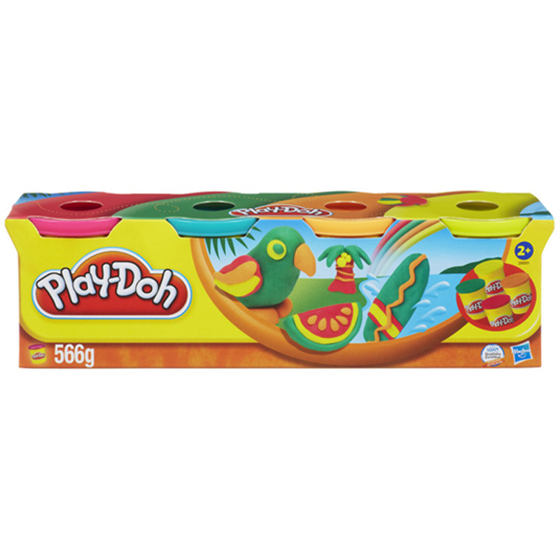 Do choi Play-Doh Bot nan 4 mau