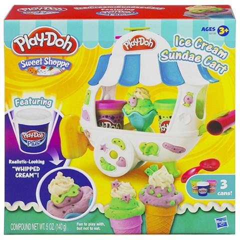 Do choi Play-Doh Xe kem banh ngot