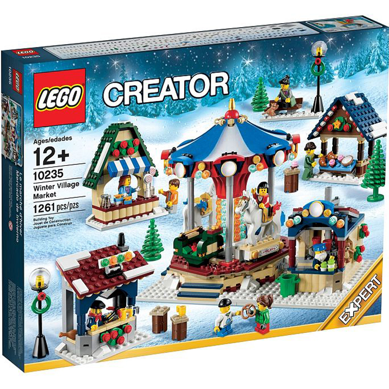 Do choi lego Creater 10235 - Cho Lang Mua Dong