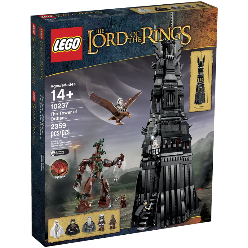 Do choi Lego 10237 -Thap Orthanc