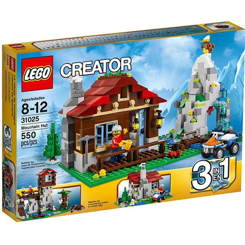 Do choi LEGO Creater 31025 - Xep hinh ngoi Nha Tren Nui