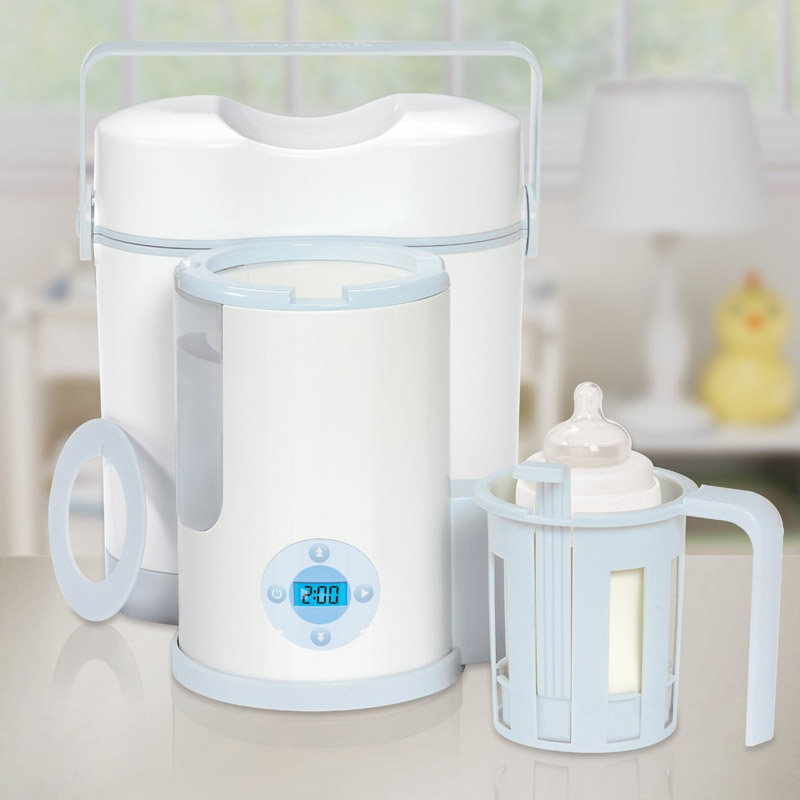 May ham nong binh sua va co ngan giu lanh Munchkin Night & Day Bottle Warmer & Cooler