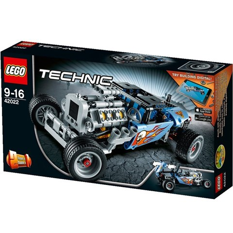 Do choi lego technic 42022 - Xep Hinh Xe Do