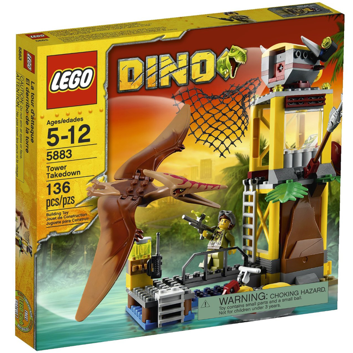 Do choi Lego 5883 - Thap Canh Khung Long Bay