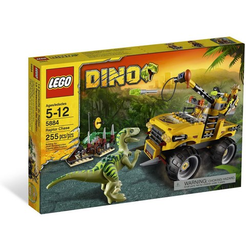Do choi Lego 5884 - Truy Bat Khung Long
