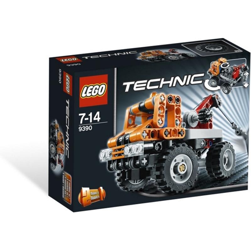 Do choi Lego Techinic 9390 - Xe tai canh sat