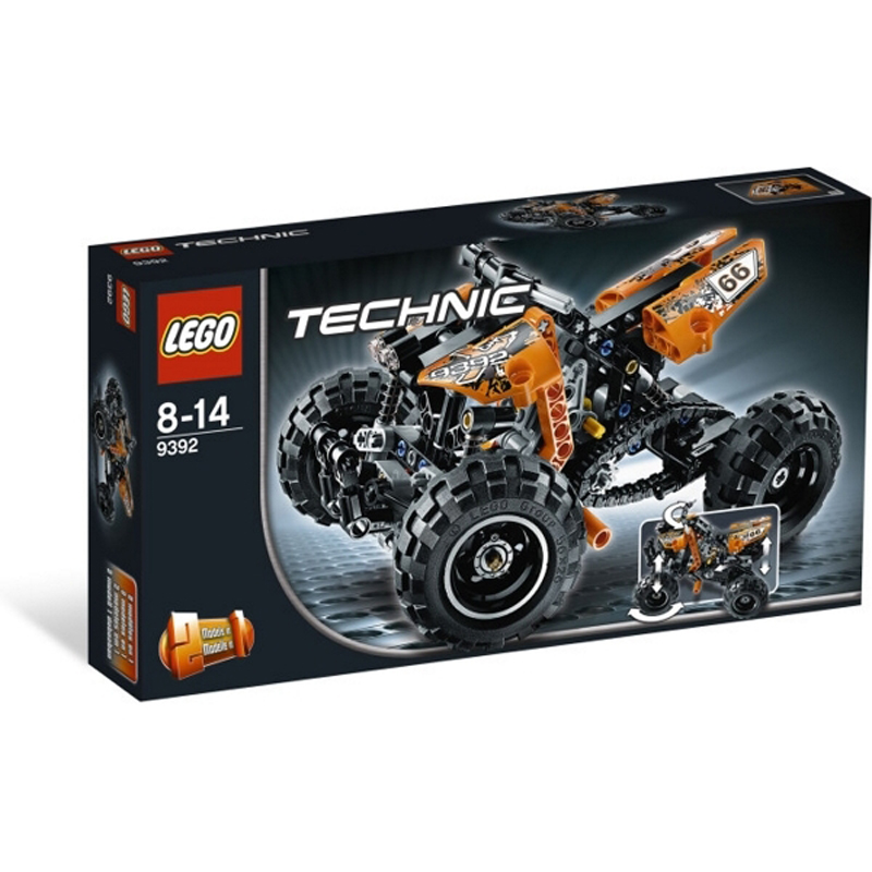 Do choi Lego Techinic 9392 - Mo to bon banh