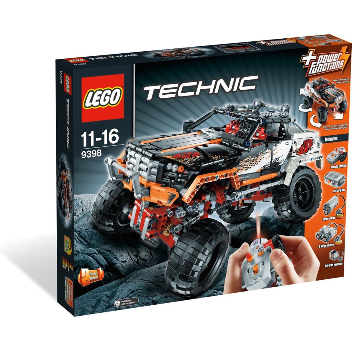 Do choi lego Technic 9398 - Sieu Xe Dia Hinh