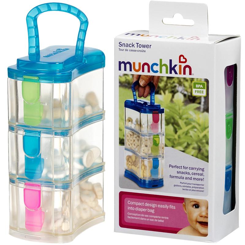 Hop dung sua bot va do an Munchkin Snack Tower
