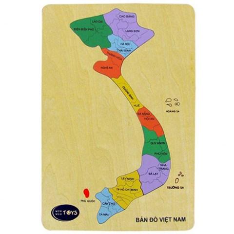 Do choi go Winwintoys 62242 - Ban do Viet Nam