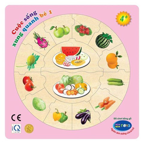 Do choi go Winwintoys 63382 - Cuoc song xung quanh be 1