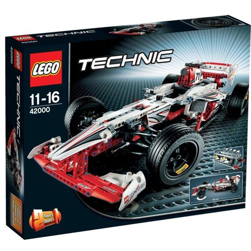 Do choi LEGO Technic 42000 - Xe dua the thuc