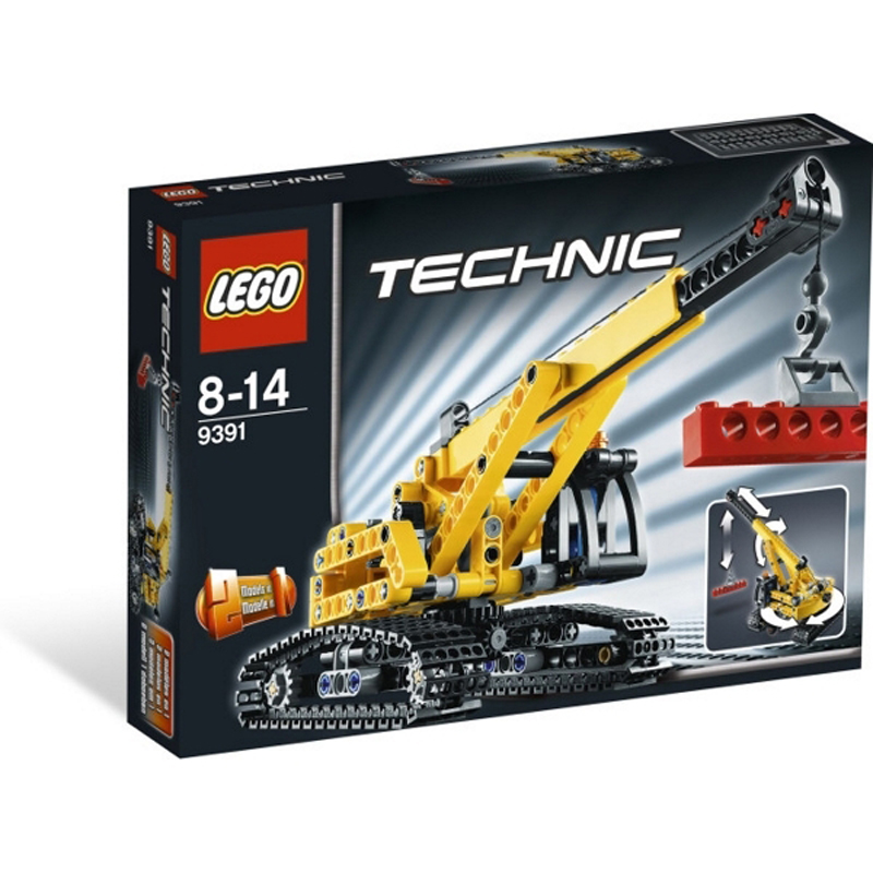 Do choi Lego Techinic 9391 - Xe can truc
