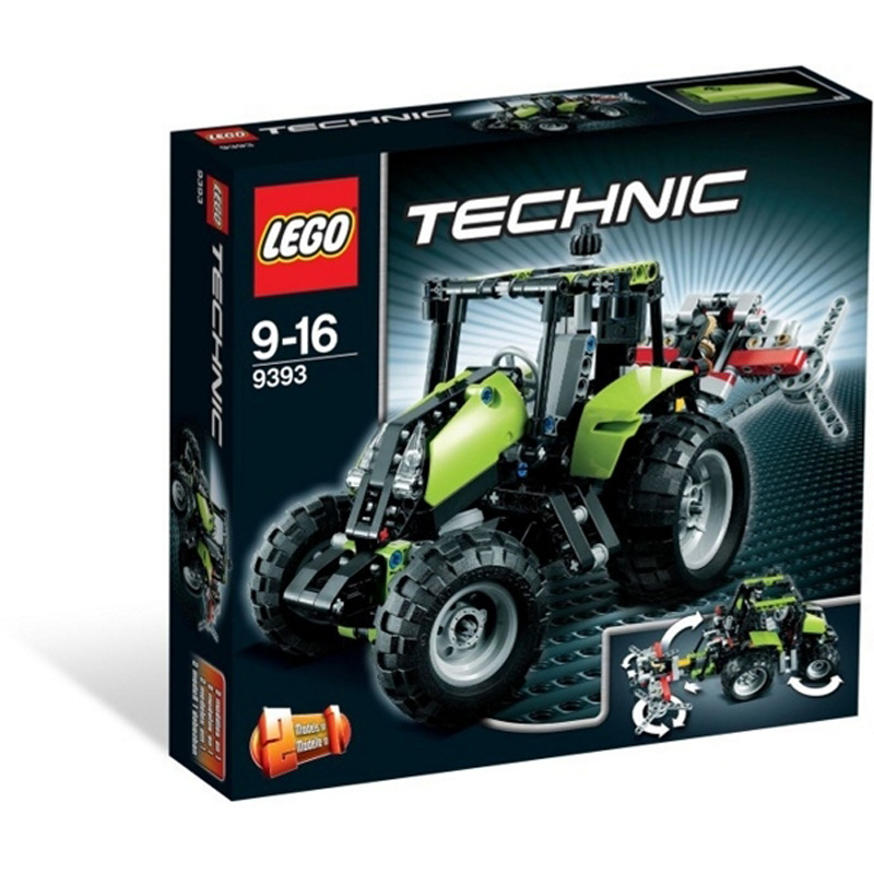 Do choi Lego Techinic 9393 - Dau may keo