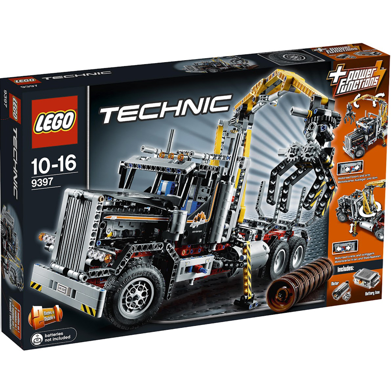 Do choi Lego Techinic 9397 - Xe Tai Tro Go
