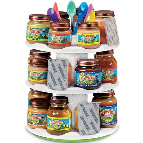 Gia de thuc an cua be Munchkin 13601 Baby Food Organizer