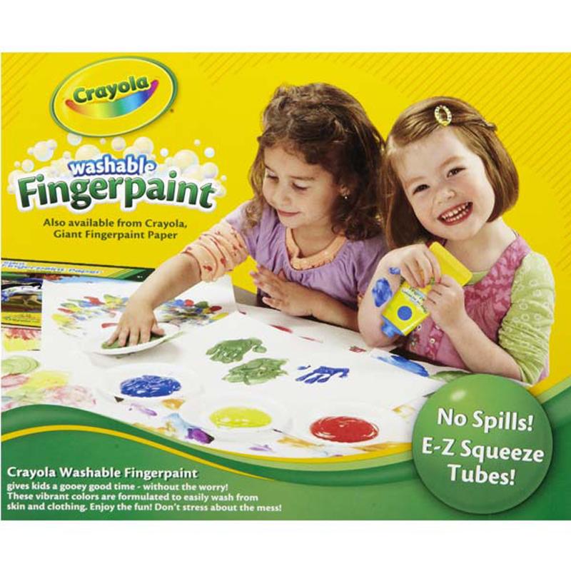 Bo son bang tay 4 mau - Crayola 5500120000