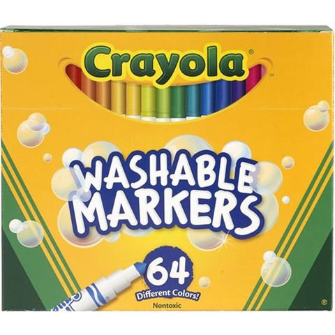 But long mini 64 mau (tay rua duoc) - Crayola 5887640005