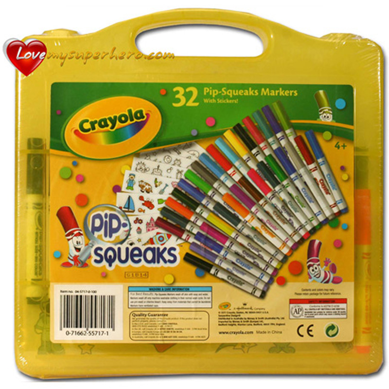 Vali nghe thuat (32 but long mini, giay ve) - Crayola 045717L000