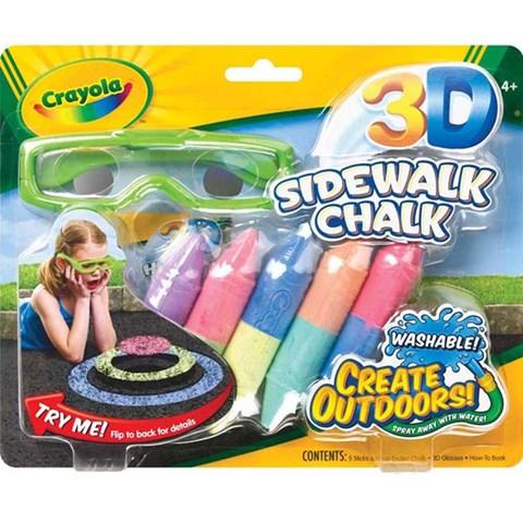 Phan ve 3D (co kinh kem theo) - Crayola 5135050000