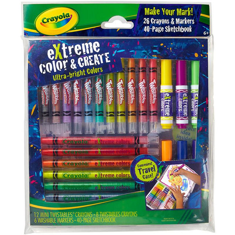 Bo dung cu ve - Crayola 0457160000