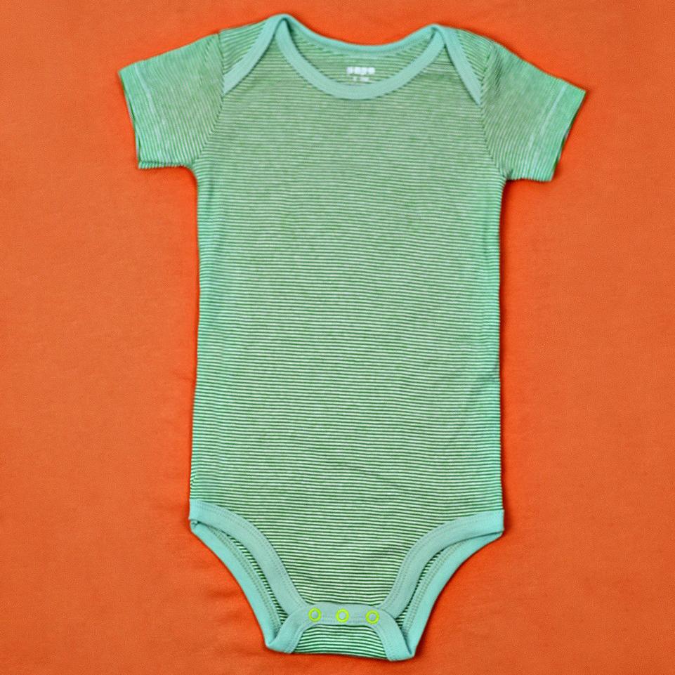 Boby so sinh PaPa tay ngan be trai 3-6M (xanh la)