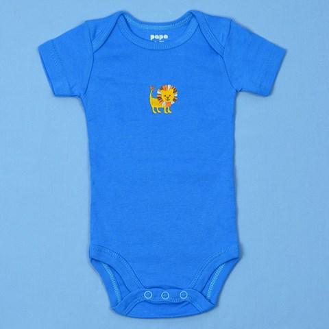 Boby so sinh PaPa tay ngan be trai 6-9M (xanh)