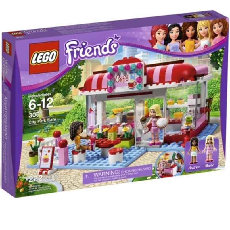 Do choi LEGO Friends 3061 - Quan Ca Phe Cong Vien Thanh Pho