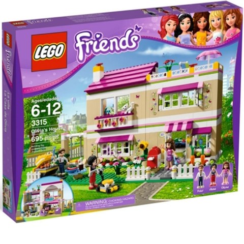 Do choi LEGO Friends 3315 - Nha Cua Olivia
