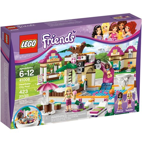 Do choi LEGO Friends 41008 - Ho Boi Thanh Pho