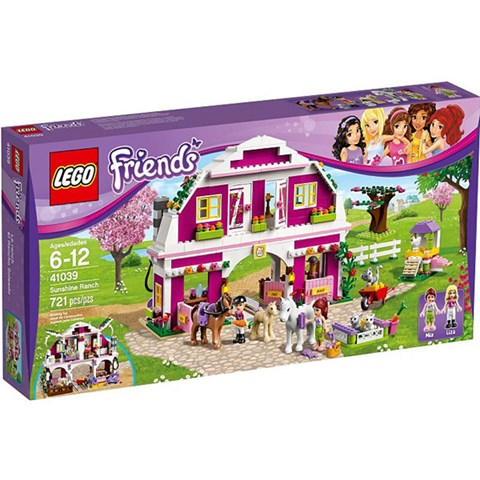 Do choi LEGO Friends 41039 - Trang Trai Ruc Ro