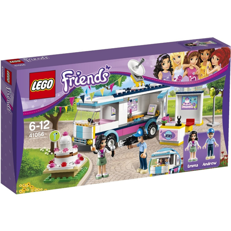 Do choi Lego Friend 41056 - Xe Thong Tin Thanh Pho-41056