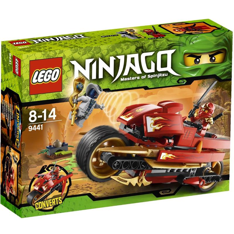 Do choi Lego Ninjago 9441 - Moto cua Kai